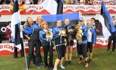 Eesti tiim võitis agility-MMil meeskondlikus arvestuses hõbemedali!