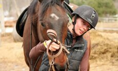 FOTOD: Võrumaa ratsaneiu loodab pääseda paraolümpiale