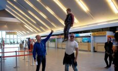 Vello Vaheri ärasaatmine lennujaamas