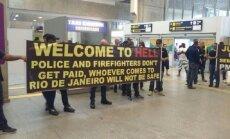 """Полиция Рио-де-Жанейро поприветствовала туристов """"в аду"""""""
