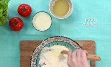 Küpseta mõnus ja kerge tomati-sibulapirukas ribilihaga!
