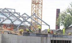 Balti jaama turu ehitustööd