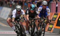 Milano - San Remo ühepäevasõidu finiš