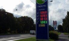 ФОТО: Neste снизила цены до оптовых — другие заправки Таллинна последовали примеру