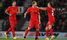 Ragnar Klavani (vasakul) ja Liverpooli hooaeg on alanud igati rõõmustavalt.