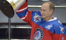 Liiga ilus, et tõsi olla? Vladimir Putin viskas oma sünnipäeval hokistaaridega mängides 7 väravat
