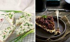 Ideid pühapäevaks: kaks kevadist ja üllatavalt maitsvat soolast kooki, mis peolauale hästi sobivad