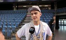 DELFI VIDEO: Rolands Freimanis: tunnen end Kalev/Cramos nagu kodus, mind koheldakse siin kui eestlast