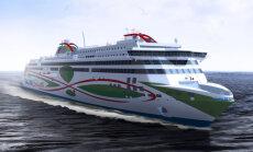 Meyer Turku laevatehases alustati Tallinki LNG kiirlaeva Megastar kokkupanekuga