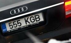 Raplamaal varastatakse ohtralt autode numbrimärke