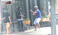 VIDEO: Naljamees Leonardo DiCaprio tegi oma parimale sõbrale tänaval tünga