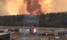 Nafta hind tõuseb, kuna tulekahju läheneb Kanada naftatootmise piirkonnale