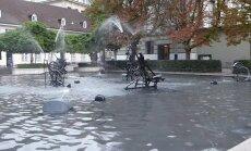 ФОТО и ВИДЕО читателя Delfi: Шаловливый фонтан на Театральной площади Базеля