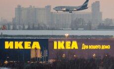 Ikea Venemaal Omski lennujaama lähedal.