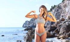 """FOTOD: Fitness-blogija tõestab, et ka väga trimmis kehaga naisel võivad olla """"sangad"""" ja kõhuvoldid"""