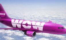 Исландская авиакомпания WOW air анонсировала бесплатные билеты для пассажиров