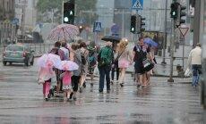FOTOD ja VIDEO: Ilmateenistus andis üle-eestilise äikesehoiatuse
