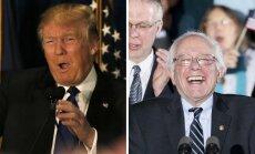 New Hampshire'i eelvalimistel olid võidukad Trump ja  Sanders