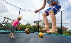 Прыжки на батуте не только приятное времяпрепровождение, но и прекрасная тренировка
