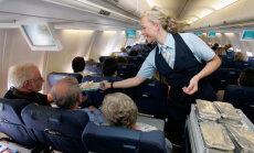 Stjuardessi kahtlus kahe reisija osas käivitas ootamatu sündmuste ahela