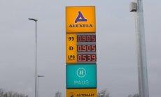 Ülimadal bensiinihind Keila Alexela tanklas.