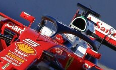 Sebastian Vetteli vormel ja Halo-tüüpi turvakaitse