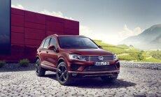 Veinisõbrad, tähelepanu - see eriseeria Volkswagen Touareg on just teile!