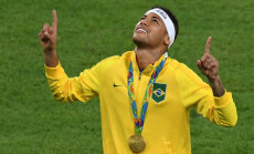 Neymar Rio olümpial kuldmedaliga