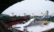 FOTOD ja VIDEO: Sildaru konkurendid võistlesid Bostoni pesapallistaadionil Big Airi hüpetes