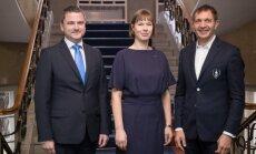 Kersti Kaljulaidi kohtumine Eesti Olümpiakomitee juhtidega