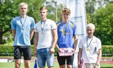 Молодой нарвский прыгун установил личный рекорд, но остался без медали