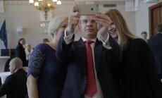 DELFI FOTOD: Presidendikandidaadid valmistuvad valijameeste ette astuma