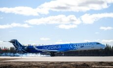 Национальная авиакомпания Nordica поставила новый рекорд по количеству пассажиров