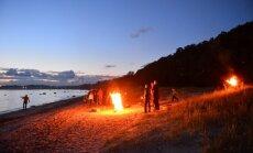 FOTOD: Haabneeme rannas tõi muinastulede öö kokku sadu inimesi