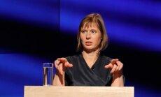 Kersti Kaljulaid ETV stuudios