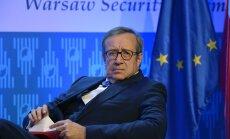 President Ilvesele anti Varssavi julgeolekufoorumil Vabaduse Rüütli autasu