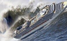 VIDEO, mis võtab südame alt õõnsaks: vaata, kuidas suured ja võimsad laevad hulbivad abitult tormisel merel