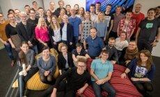 Kui T ja K tahab fotole ettevõtte juhti, koguneb kogu Proeksperdi rõõmus töötajaskond – kõik on võrdsed juhid.