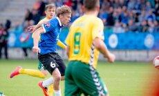 Jalgpall Eesti vs Leedu