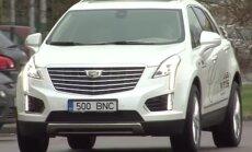 Motorsi proovisõit: Cadillac XT5 - neljarattavedu tuleb nupust sisse lülitada