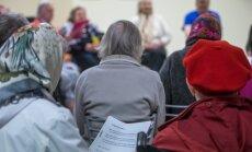 Keila hooldushaigla asukad tähistasid mõne nädala eest alzheimeri päeva.