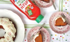 Уникальные вкусовые ощущения: пирог из кетчупа с глазурью из свежего сыра