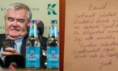 FOTO: Savisaar postitas keset ööd Facebooki etteheiteid opositsioonile ja delegaatide nimekirja peitmist nõudva kirja