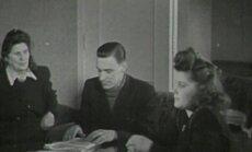 VANAD FILMIKAADRID 1947: Tallinna kortermaja naisi külastab vilunud agitaator