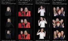 LEIA END FOTOLT: Catwalk.ee fotoboksis poseeris ilumessi kolme päeva jooksul sadu inimesi