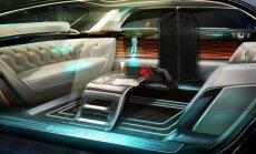 Bentley isesõitvasse autosse võib tulla holograafiline teener