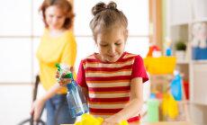 Millised kodutööd peaksid lapsel varakult selged olema?