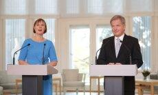 BLOGI ja FOTOD: Esimestele välisvisiitidele suundunud president Kaljulaid kohtus Soome riigipea Sauli Niinistöga