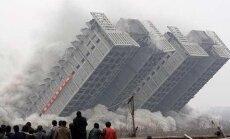 Kui maja lihtsalt ei purune - suuri altminekuid lammutatavate majade õhkimisel