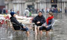 ФОТО. Сильнейшее наводнение: в Венеции затопило 75% территории города